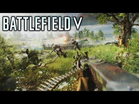 Battlefield 5 (2018) - NEW Fortifications System! Resources! Towing! New Multiplayer Gameplay Info!