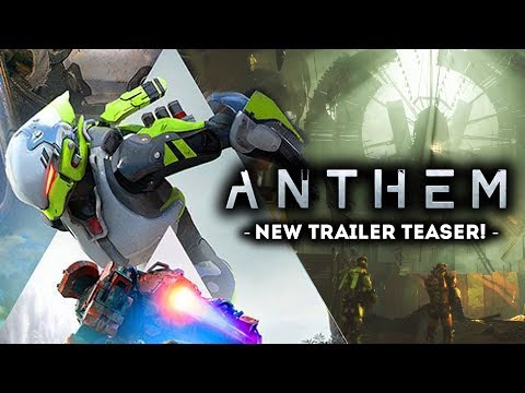 ANTHEM GAME - New Gameplay Teaser Trailer!  New Boss and Raid?!  Walkthrough at EA PLAY 2018!