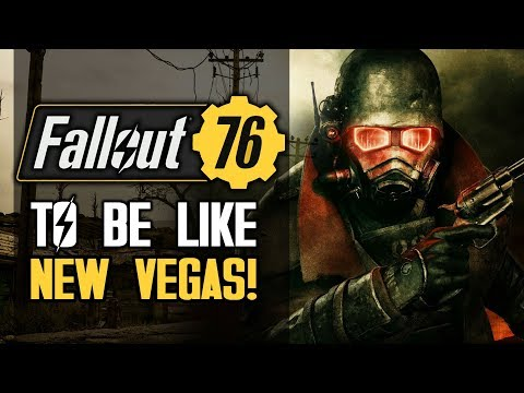 Fallout 76 - To Be Like Fallout New Vegas! New Bethesda Comments!