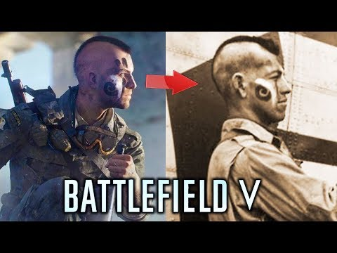 Battlefield 5 - Customization vs Real Life! World War 2 Soldiers and How Realistic is It Really?
