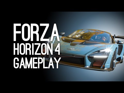 Forza Horizon 4 Gameplay: Forza Horizon 4 Gameplay Demo at E3 2018 Xbox Conference