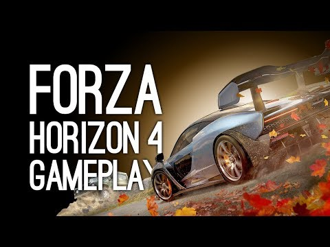 Forza Horizon 4 Gameplay: Let's Play Forza Horizon 4 - SHEEP MURDER at E3 2018