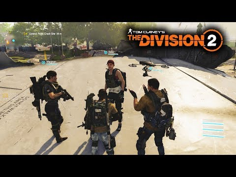 The Division 2 - NEW SQUAD Multiplayer Gameplay! Funny Moments in Co-op!