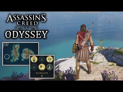Asssassin's Creed Odyssey - ALL ABILITIES! Map Size! Customization New Gameplay! Free Roam!