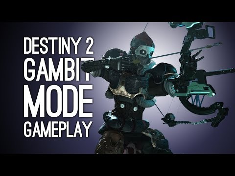 Destiny 2 Forsaken Gameplay: GAMBIT GAMEPLAY - New Destiny 2 Mode at E3 2018