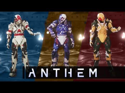Anthem Javelin Customization In-Depth! EVERY NEW DETAIL! Rare Loot! New Gameplay Info!