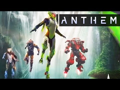 Anthem - New Loot System! Storm Javelin Details! Mobile Strider Base! New Gameplay Details!