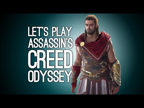 AC Odyssey Gameplay: Let's Play Assassin's Creed - LIONS! BEARS! SPARTAN KICKS!