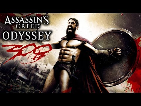 BATTLE OF THE 300 Easter Egg!  Assassin's Creed Odyssey New Gameplay! Large Conquest Battles!