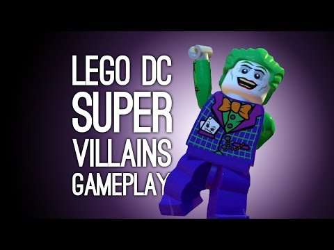 Let's Play Lego DC Supervillains: CAPTAIN EYEPATCH YOU'RE THE WORST - Lego DC Supervillains Gameplay
