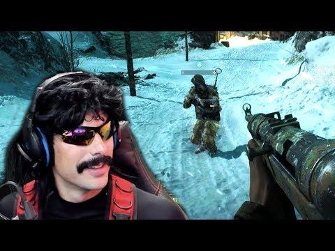 Tank Sniping DrDisRespect in Battlefield 5 Closed Alpha! - Battlefield 5 Squads Gameplay