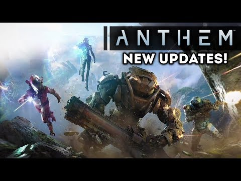 ANTHEM - NEW UPDATES! New Quest Info! Seasonal Events! Single Player & Online Gameplay Info!