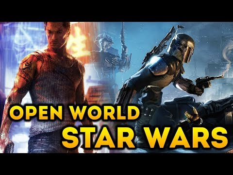 EA's Open World Star Wars Game - Sleeping Dogs and Prototype Devs On The Team! New Details!