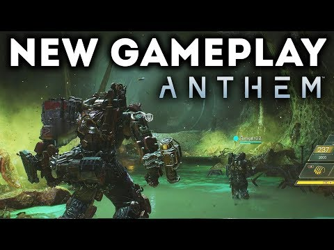 Anthem - NEW GAMEPLAY Walkthrough! 20 Minutes! Boss Battle! Stronghold Mission! Open World Gameplay!