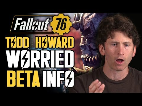 Fallout 76 - Todd Howard Is Worried!  Beta Emails Sent Out! Community Reacts!