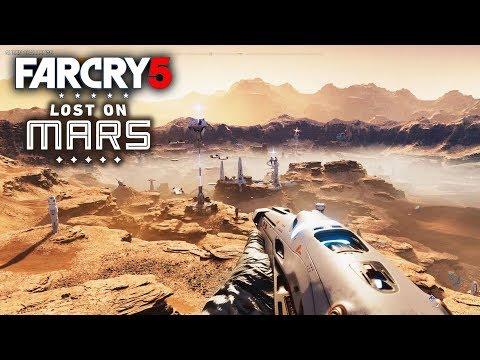 Far Cry 5 Mars DLC - Free Roaming New Open World Map! New Gameplay! Queen Battle! Weapon Blueprints!