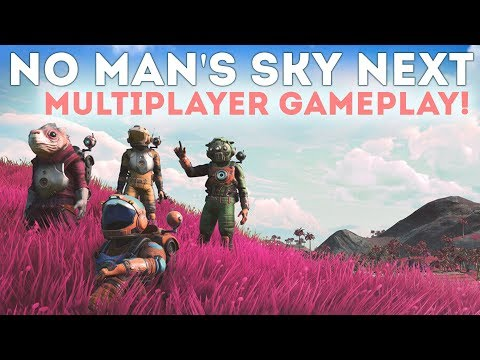 FINALLY!  No Man's Sky NEXT Multiplayer Gameplay!  Looks GREAT!