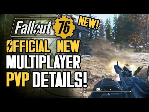 Fallout 76 - Official New PVP Multiplayer Details!  New