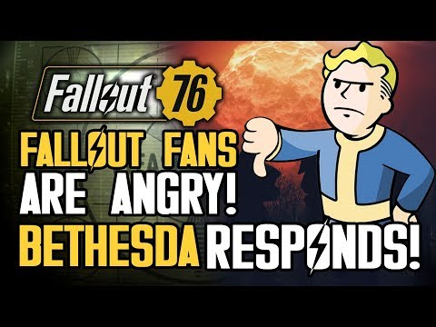 Fallout Fans Are ANGRY About Fallout 76! Bethesda Responds About Lack of PVE Servers and More