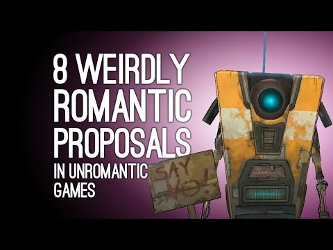 8 Weirdly Romantic Proposals in Unromantic Games