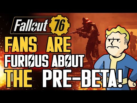 Fallout 76 - Fans are FURIOUS About The Pre-Beta! Pete Hines Responds! Single Player Concerns!