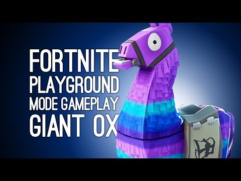 Fortnite Playground Mode: MIGHTY MONUMENT BUILD for Fortnite Birthday