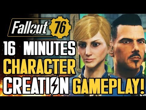 Fallout 76 - 16 Minutes of New Gameplay Details! Character Creation Walkthrough! Perks! New Trailer!