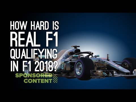How Hard Is Real F1 Qualifying in F1 2018? Let's Play F1 2018 (Sponsored Content)