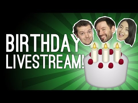 Birthday Livestream! Outside Xbox is 6! 🎂 Hitman, Overcooked 2, Cake 🎂