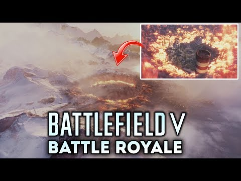 Battlefield 5 - Official Battle Royale Teaser Trailer! FIRST LOOK AT THE STORM!