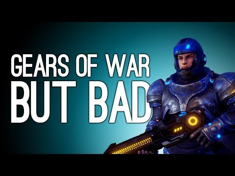Let's Play Gene Rain: WHAT IF GEARS OF WAR BUT BAD (Gene Rain Gameplay)
