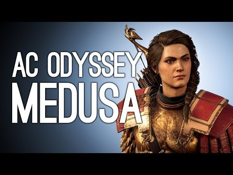 Assassin's Creed Odyssey Gameplay: MEDUSA FIGHT - Let's Play AC Odyssey