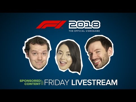 F1 2018 Live! Outside Xbox Plays F1 2018 (Sponsored Content)