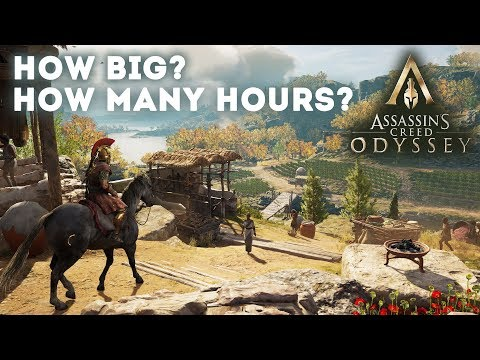 How Big Is Assassin's Creed Odyssey? How Many Hours Is It To Beat The Story?