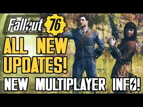 Fallout 76 - ALL NEW UPDATES!  New Multiplayer Details!  Power Armor, Servers! Gameplay Features!