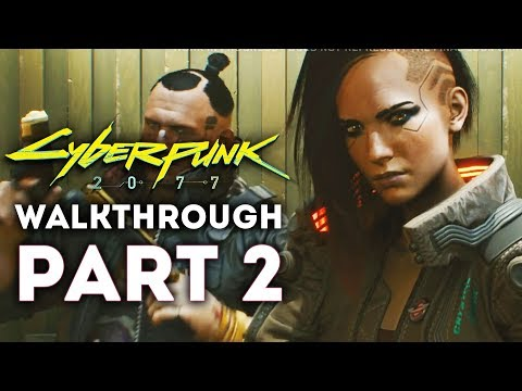Cybperpnk 2077 - New Gameplay Walkthrough Part 2! Weapons Gameplay! BOSS BATTLE! (PS4, Xbox One, PC)