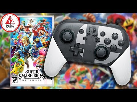 Super Smash Bros Ultimate Pro Controller Announced + HUGE SALES