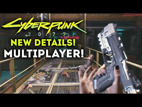 Cyberpunk 2077 - Official Multiplayer Details! Microtransactions?