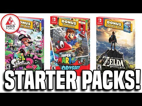 Nintendo Announces Starter Pack for It's Biggest Games