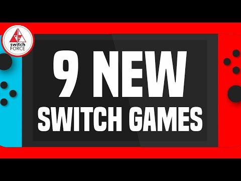 9 More New Switch Games JUST ANNOUNCED!