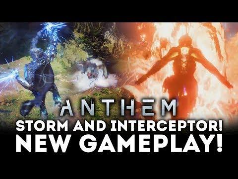 ANTHEM - NEW GAMEPLAY TRAILER! Inteceptor and Storm Gameplay!