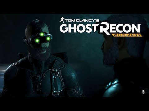 Tom Clancy's Ghost Recon Wildlands - Splinter Cell Sam Fisher Stealth Mission Gameplay