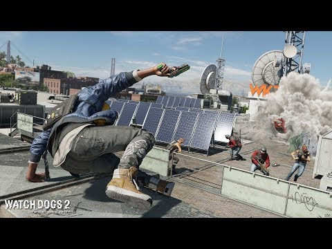 Watch Dogs 2 $911 Stealth Mission Gameplay - Jailbird Blues