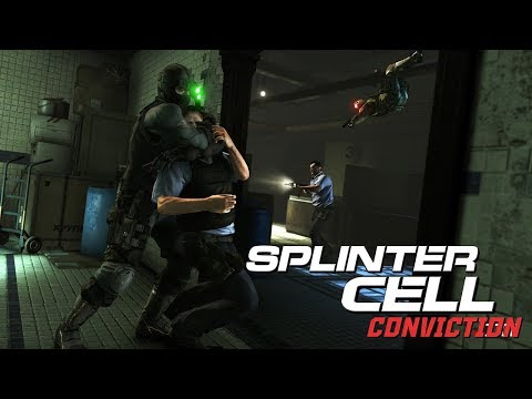 Splinter Cell Conviction Stealth Kills & Takedowns Gameplay - Deniable Ops #2