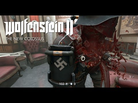 WOLFENSTEIN 2 The Freedom Chronicles - Stealth Mission Gameplay