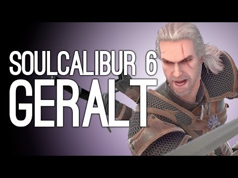 Soulcalibur 6 Geralt Gameplay: The Witcher vs The Witcher in Soulcalibur 6! ⚔️