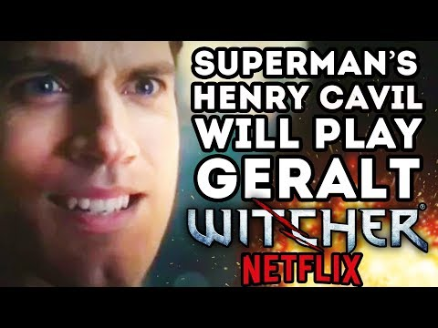 Superman's Henry Cavil Will Play Geralt In Netflix Witcher TV Series!