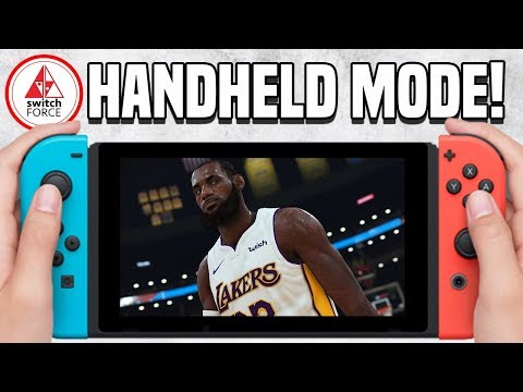 NBA 2K19 Switch: Taking My Career on the Go!