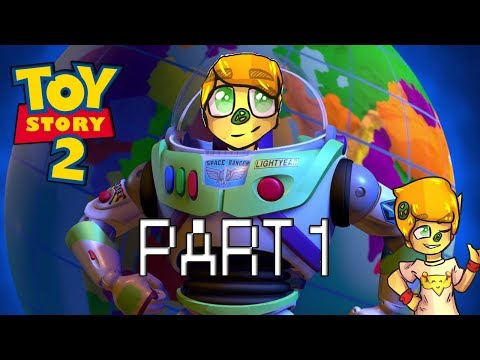 Toy Story 2: Buzz Lightyear to the Rescue! 100% Gameplay Walkthrough  Part 1 (PS1 GAMEPLAY)