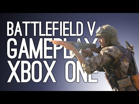 Battlefield V Gameplay: CHUMS I'M TAKING THE OBJECTIVE (Let's Play Battlefield V Beta on Xbox One)